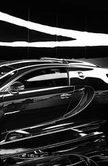 Bugatti (Jan Rossol) Tags: mirror blackwhite bugatti