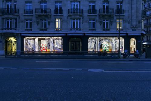 Vitrines de la CFOC - Paris, octobre 2013