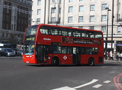 LK56FHT - Metroline - TE723 (lazy south's travels) Tags: door uk england bus london floor britain low double deck dual alexander dennis comfort decker tfl adl delgro lk56fht