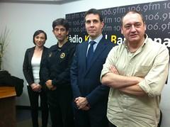 Carles Reyner y Jordi Guerrero (Guardia Urbana de Barcelona)