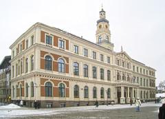 Riga City Hall (Fotorus) Tags: architecture cityhall latvia riga ratlauskums
