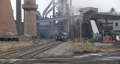 Emerging from the belly of the beast ! (Marra Man) Tags: applebyfrodinghamsteelworks scunthorpesteelworks blastfurnace hunslet 71 he72821972 he72861972