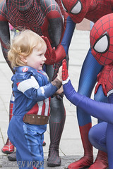 #11 Childish Delights (117 Pictures In 2017) (kazmorris) Tags: 117picturesin2017 comiccon liverpool spiderman superhero spider man childish comic web