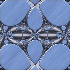 Filling in the Gaps (Ross Hilbert) Tags: fractalsciencekit fractalgenerator fractalsoftware fractalapplication fractalart algorithmicart generativeart computerart mathart digitalart abstractart fractal chaos art kleinian circleinversion tiling orbittrap