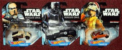 Mattel - Rogue One Hot Wheels (Darth Ray) Tags: mattel star wars rogue one hot wheels scarf stormtrooper squad leader k2so ezra bridger local target