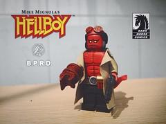 hellboy (LIFE-CUSTOM) Tags: hellboy lego custom