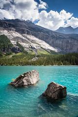 Oeschinen Lake (dibaer) Tags: berne eté suisse lacdoeschinen oeschinenlake kandersteg switzerland lake lac eau water alpesbernoises berneseoberland alps alpes montagne mountain