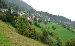 Rainy day in Slovenia (stevelamb007) Tags: slovenia julianalps mountain village rainy stevelamb nikon landscape bucolic rural rain d70s tamron 1116mmf28 wideangle