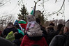 (mighty_pandaa) Tags: bulgarian bulgaria flag crowd people mountain flags celebration monument shipka national candid winter snow