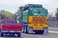 WM Garbage Truck 4-3-17 (3) (Photo Nut 2011) Tags: california sanitation waste wastedisposal garbagetruck truck trashtruck garbage trash junk refuse wastemanagement wm 212342 silverado chevy chevrolet