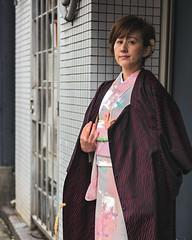 Tokyo50-38 (Diacritical) Tags: japan kagurazaka kimono tokyo april12017 leicacameraag leicamtyp240 summiluxm11435asph f14 ¹⁄₇₅₀sec centerweightedaverage street