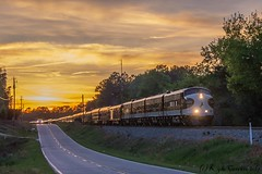 Back to the Barn (kcerrato1) Tags: norfolk southern ns ocs office car special sunset south carolina r line rline augusta ga masters train sc
