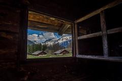 Alpage de Charousse - Les Houches (glassonlaurent) Tags: alpage de charousse les houches 74 hautesavoie france landscape fenêtre montagnes chamonix paysage window mountain