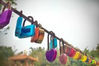68/365 Love lock