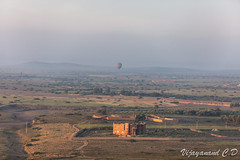 First Light.. and Hot Air Balloon (VCD.) Tags: vcd marrakech morocco hot air balloon hotairballoon firstlight morning early sunrise dusk