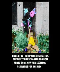 White House Easter Egg Roll 2017, co-sponsered by Bill O'Reilly (The Devils in the Details) Tags: whitehouseeastereggroll easterbunny donaldtrump kellyanneconway seanspicer billo'reilly pussygrabber wiretap tapp executiveorder washingtondc cia gop isis vladimirputin russia sexdrugsandrockandroll plannedparenthood bigot dumptrump thewalkingdead republican pennywise mikepence ronaldmcdonald march badhombre conservative rape riencepriebus donaldmcgahn stevenbannon frankgaffney jeffsessions generaljamesmattis generaljohnkelly stevenmnuchin andypuzder wilburross cathymcmorrisrodgers twitter mitchmcconnell ktmcfarland mikepompeo nikkihaley betsydevos tomprice scottpruitt seemaverma trumptower marriageequality kukluxklan daryldixon newyorkcity melaniatrump terrorist angelamerkel mexicanwall racism confederateflag nazi islam freedom berniesanders americannaziparty therollingstones democrat civilrights tempertantrum abortion tinfoilhatsociety foxnews liberal