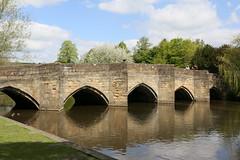 Bakewell, Bakewell Bridge (Clanger's England) Tags: derbyshire wwwenglishtownsnet bakewell et england