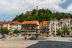 IMG_9805 (ludo.depotter) Tags: kasteel ljubljana ljubljanica slovenië oudestad