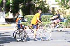 Doing the hard work - Sunday cycling - Paseo de Montejo, Merida, Mexico (Dis da fi we (was Hickatee)) Tags: merida mexico mexican cycling bike cycle family fun day out