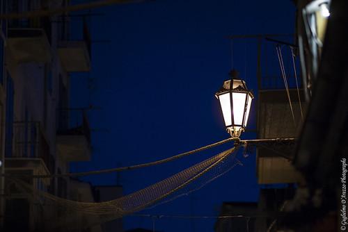 Lanterna nella notte