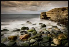 The Ballast Bank, Troon, South Ayrshire, Scotland (B Ryder) Tags: ballast bank troon south ayrshire scotland clyde coast seascape wideangle nikon d7100 sigma 1020mm rocks clouds sky