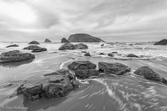 Harris Beach B&W (stanhellmann) Tags: blackandwhite ocean coast rocks storms nikond610