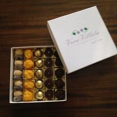 caixa para presente @veravilleladoces (VERA VILLELA DOCES) Tags: veravilleladoces caixasdedoces presentes brigadeiros ninhodeovos trufas marzipan