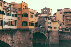 postcard from Florence (Francesca Sav) Tags: italy florence postcard arno architecture