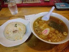 20170422 夕食。丸仲狛江 (kenchinn) Tags: 麺 ラーメン チャーハン 炒飯
