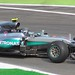 Nico Rosberg testing race