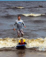 Photodepatricklevesque_I7D_0199.jpg (patrick_levesque) Tags: boogieboard famillelevesque lacsaintjean plage vagues