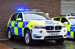 SF16OCZ (firepicx) Tags: police scotland bmw x5 traffic car roads policing rpu trpg patrol group trunk scottish blue lights emergency sirens whites battenberg dalkeith