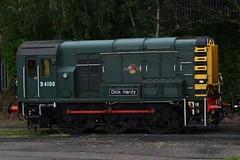 D4100 at Kidderminster. 16.07.16 (Joseph 81) Tags: d4100 09012 class09 shunter dieselshunter svr severnvalleyrailway train trains railway railways railroad