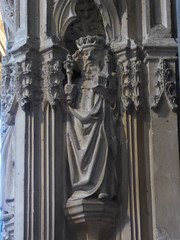 King (Aidan McRae Thomson) Tags: worcester cathedral worcestershire medieval sculpture carving statue