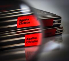 CRIME (3OPAHA) Tags: crime hmm macromondays sony book red explore agathachristie