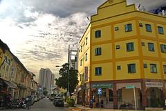 Little India, Singapore (Manoo Mistry) Tags: singapore littleindia buildings street outdoor enhancement nikond5500body nikon tamron tamron18270mmzoomlens