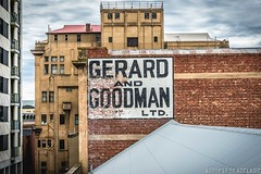 The lost Gerard & Goodman sign (Scott McCarten) Tags: abandoned adelaide australia derelict exploration ghost sign gerard goodman rundle street urbex