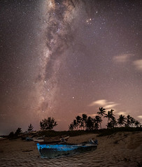 (aumegaphotography) Tags: astrophotography night milkyway beach mozambique africa stars longexposure tropical dhow nightsky astro