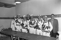 Willroy Mines Rescue Team (TBayMuseum) Tags: ontario canada history mining miners willroymines gasmasks rescuers emergencyresponse fortwilliam fortwilliamgardens manitouwadge arenas milesstreet