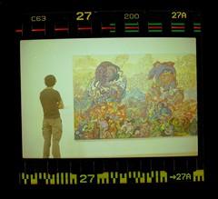(acelobb) Tags: acelobb canon pellicule art erró pop popart couleur color argentique analog film test serie people painting sprockets scan experiment retro