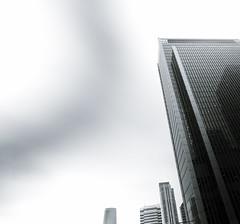 Wednesday, 10 seconds (Darryl Scot-Walker) Tags: london architecture longexposure daylightlongexposure 10seconds canondslr canon eos 5dsr wideangle city skyscraper windows