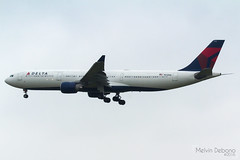 Delta Air Lines Airbus A330-323  |  N812NW  |  Amsterdam Schiphol - EHAM (Melvin Debono) Tags: delta air lines airbus a330323 | n812nw amsterdam schiphol eham melvin debono spotting canon 7d 600d plane planes airport airplane aviation aircraft netherlands holland