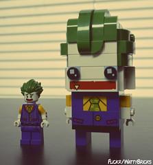 Twins (WattyBricks) Tags: lego joker minifigure brickheadz clown prince crime gotham batman dc comics