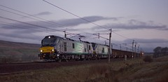 88002 68025 6Z88 (Northern156) Tags: direct rail services drs class 68 88 diesel electric locomotive 88002 68025 carlisle yard wcml west coast main line crewe gresty green preston shap scout prometheus superb