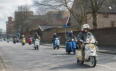 Sunday outing (bardwellpeter) Tags: norwich aanynorwich aprils pangf7 zoneninnerlinkandpast norfolk scooter mod easteregg