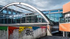 add color (mahohn) Tags: 169 architecture fenster fujix10 hamburg reflection windows