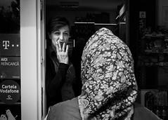 (Alex Cruceru) Tags: 2016 bw blackwhite bucharest candid city finepix mirrorless moments mono monochrome romania story stradal street streetphotography streettogs urban women x100s xseries