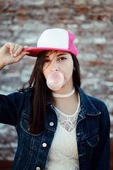 (macarenalovatto) Tags: bubblegum girl portrait