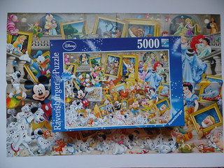 Artistic Mickey, Ravensburger, 5000 pieces