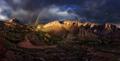 Después de la Tormenta (sgsierra) Tags: viguera rioja premio arcoiris rainbow panorama panorámica